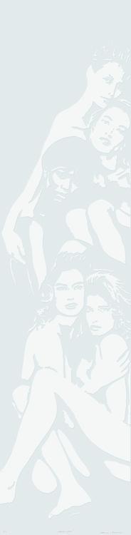 Linolschnitt: Cover Girls (geprägt)