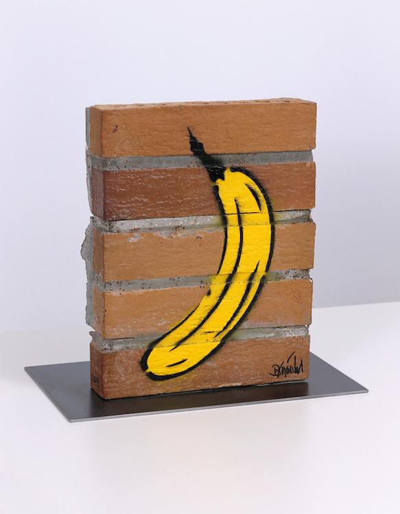 Bananenmauer