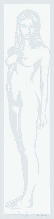 Linolschnitt: Pirelli II (geprägt)