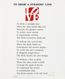"Love poem (rot) aus ""The book of love"""