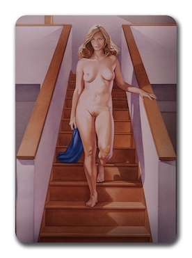 Art in the box: Nude descending a staircase