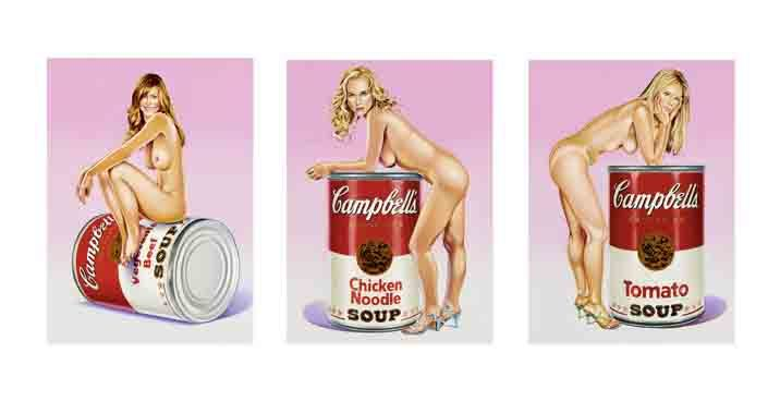 Mel Ramos<br />Campbell´s Soup Blondes
